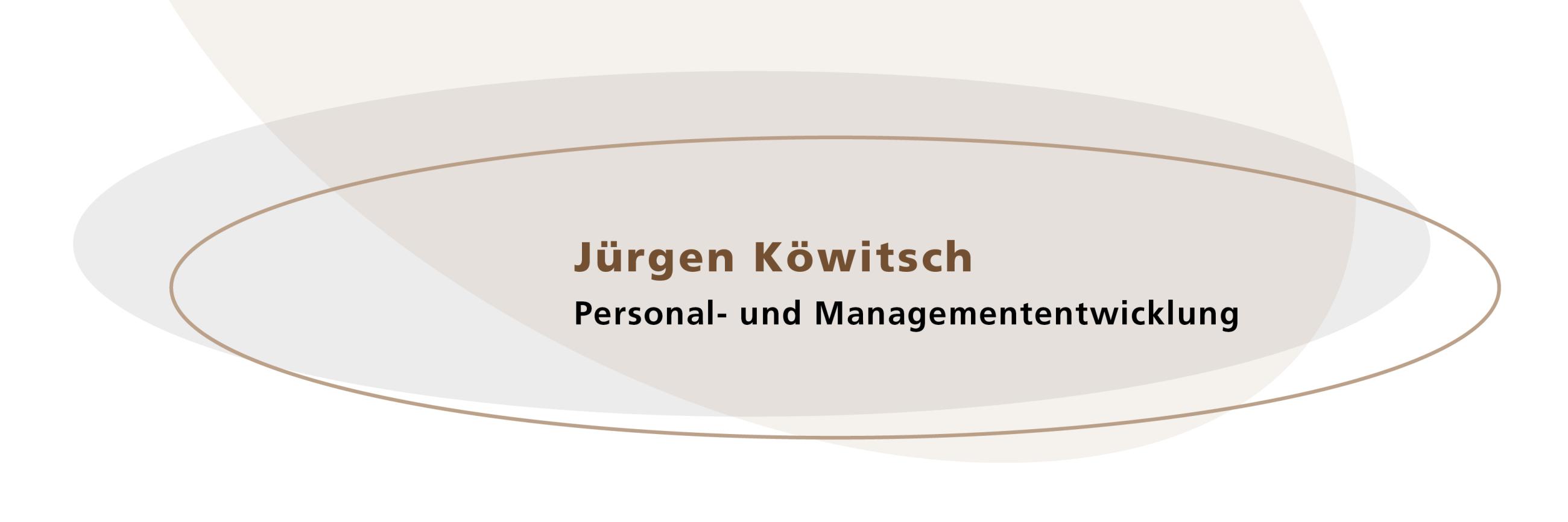 Jürgen Köwitsch Personal- und Managemententwicklung